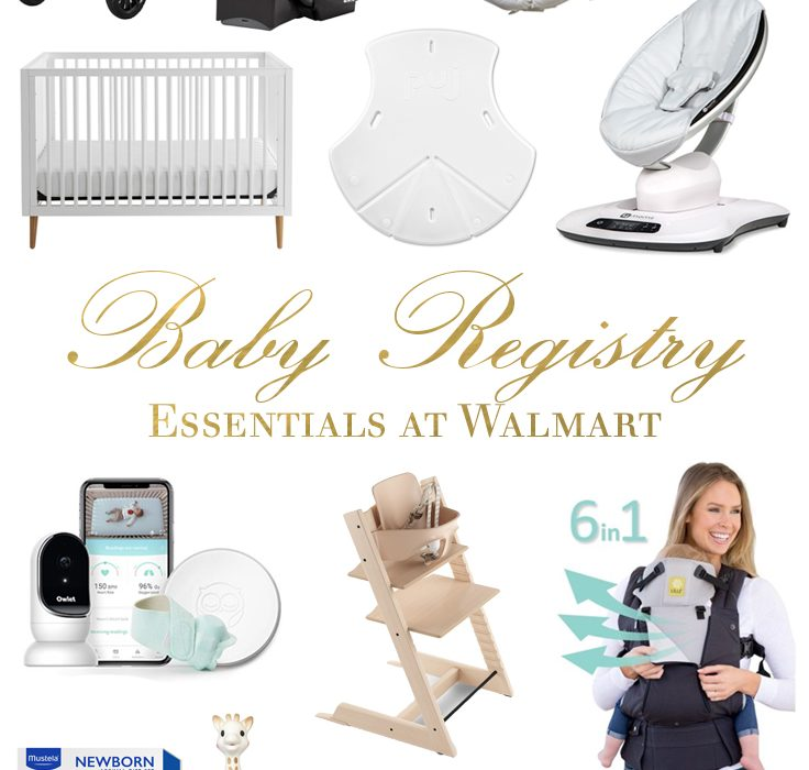 My Baby Registry Essentials at Walmart | BondGirlGlam.com