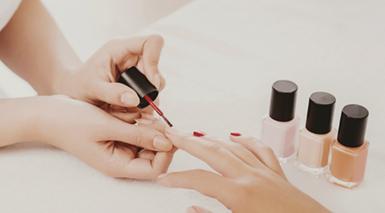 Child Manicure The Knot Salon