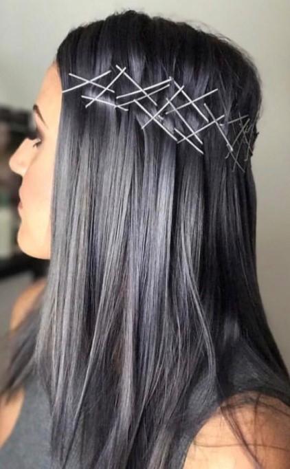 Charcoal Hair Color in Keller, TX   Charcoal Hair Bleaching
