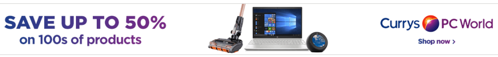Currys PC World Banner