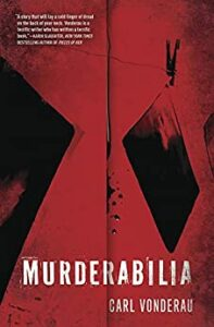 SDBA 2020 Best Mystery/Suspense Fiction Carl Vonderau Murderabilia