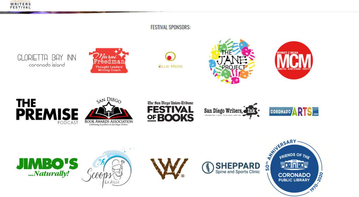 SD Writers Summer Festival Sponsors 2020