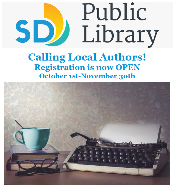 San Diego County Library Local Author Showcase