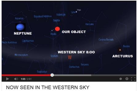 object in sky