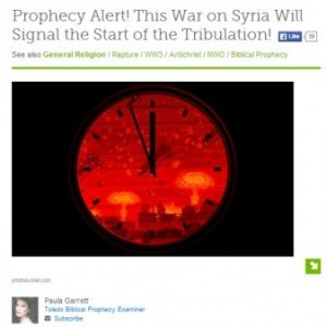 prophecy alert paula garret