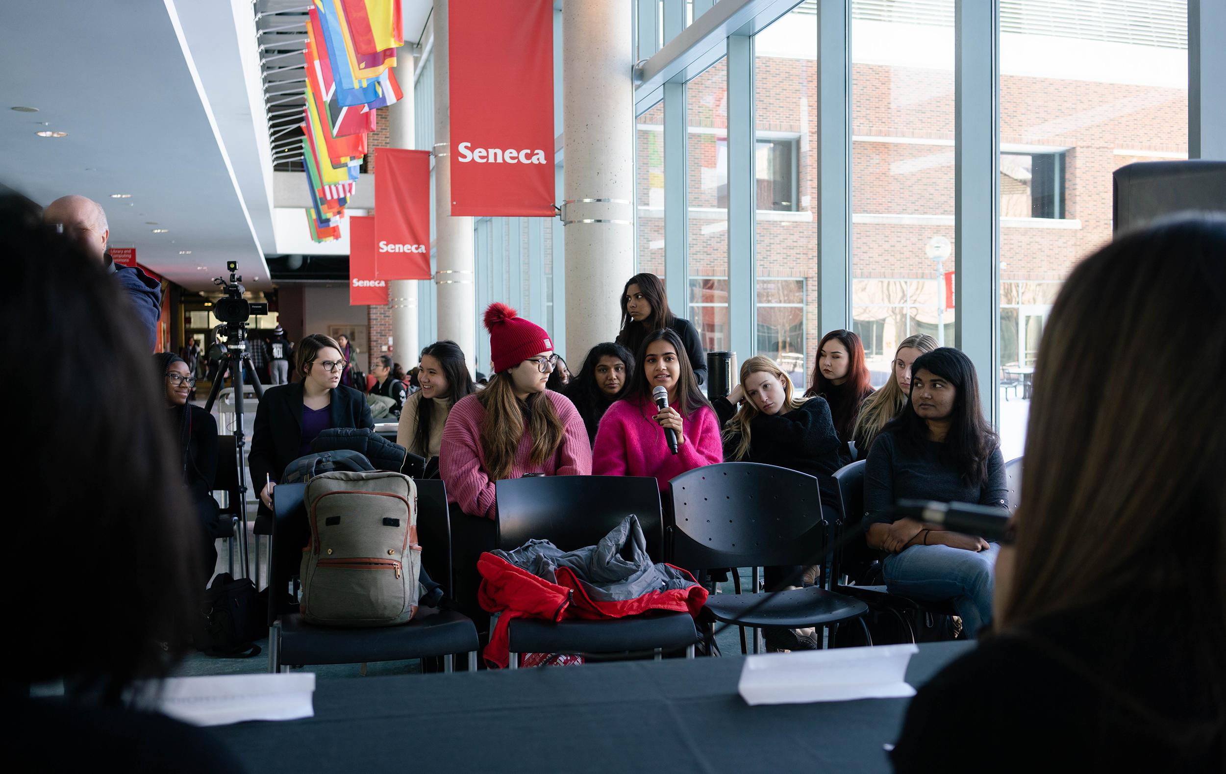 PR Students Press Conference