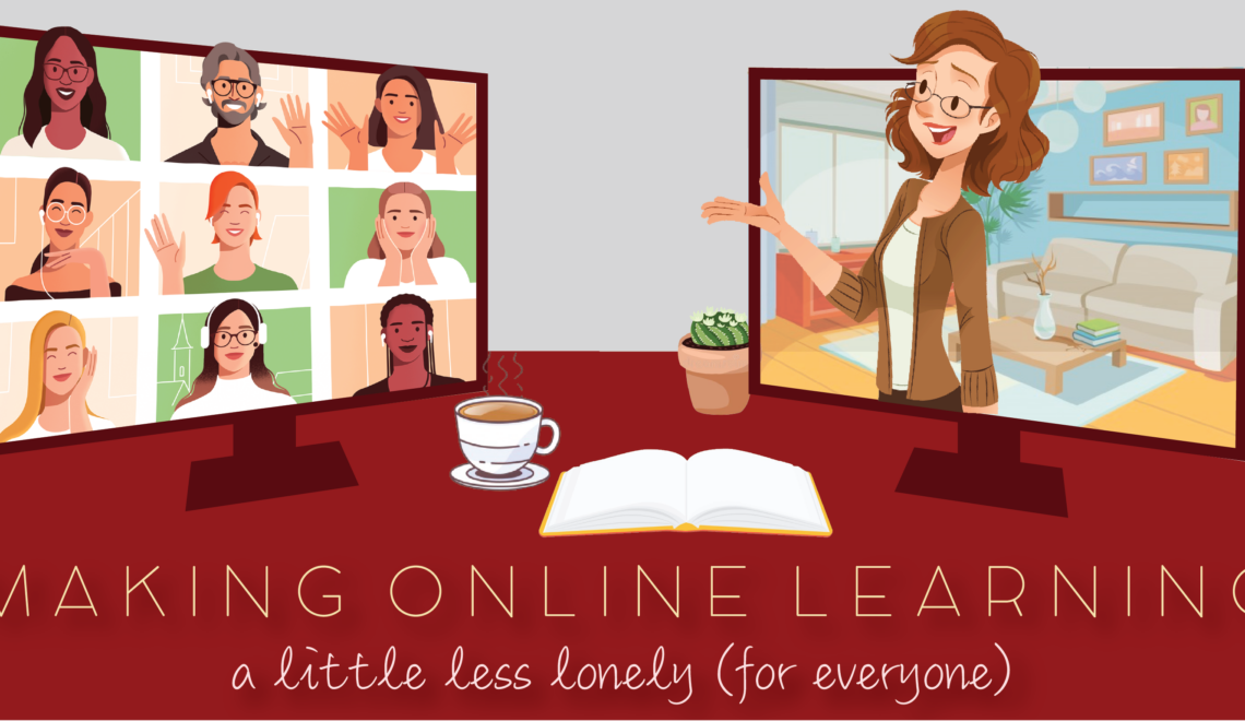Making Online Learning Less Lonely