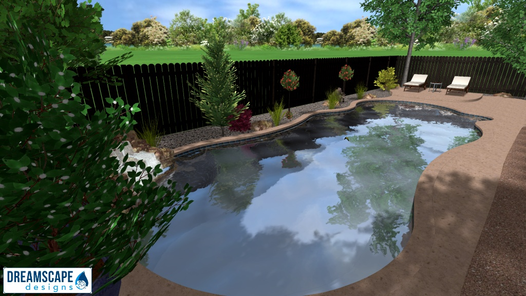 A beautiful Landscape design to compliment the Pool