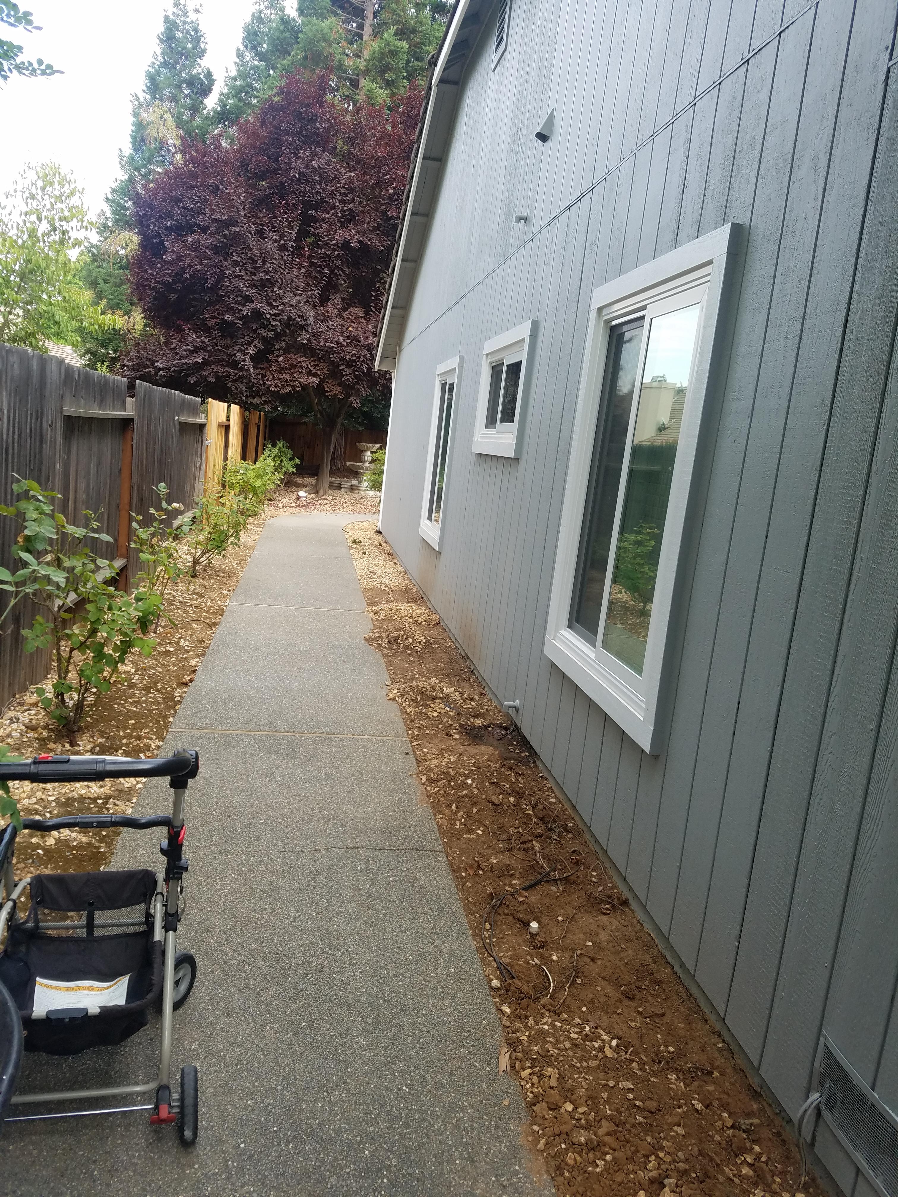 Side Path - Original Yard