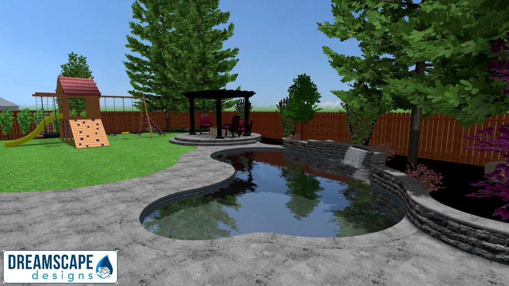 Backyard View 4 - New 3D Design