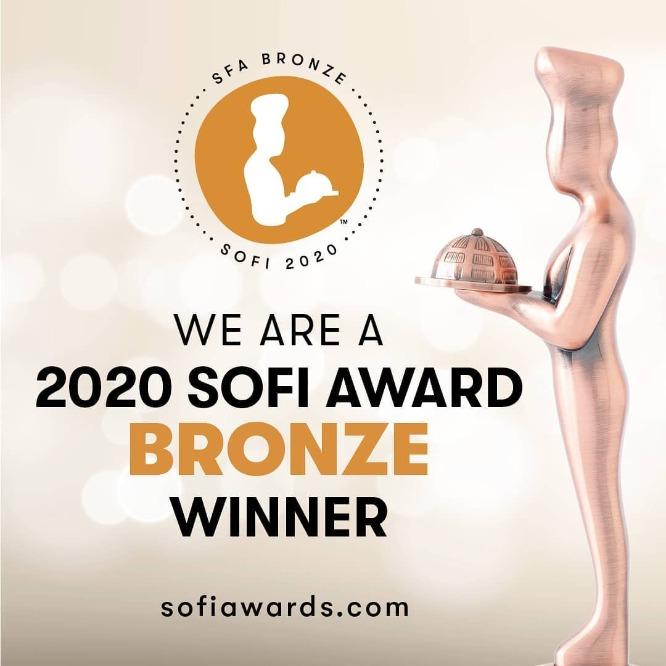 sofi award bronze 2020