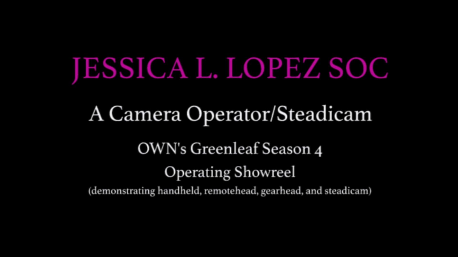 Drama Operating Showreel