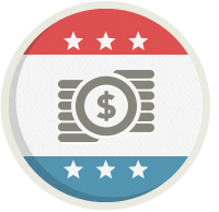 Icon design for financial management & bookkeeping.