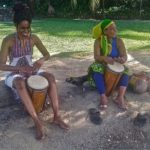 Drumming in Jamaica