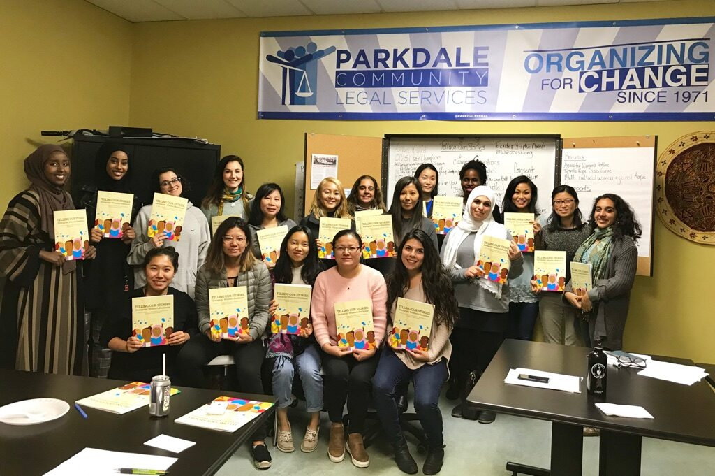 Telling Our Stories -ParkdaleComLegalService, OCASI, TibetanWomen'sOrg Photo