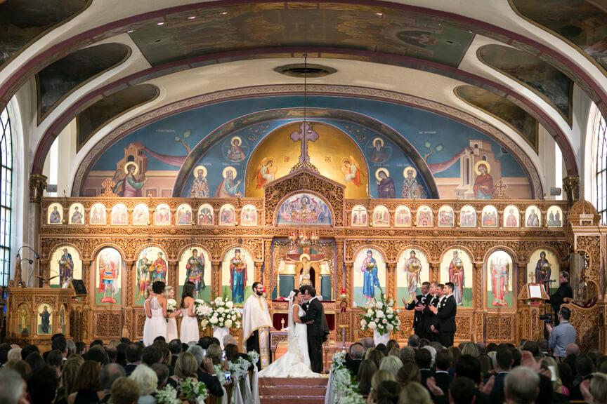 Chicago Wedding at Greek Church