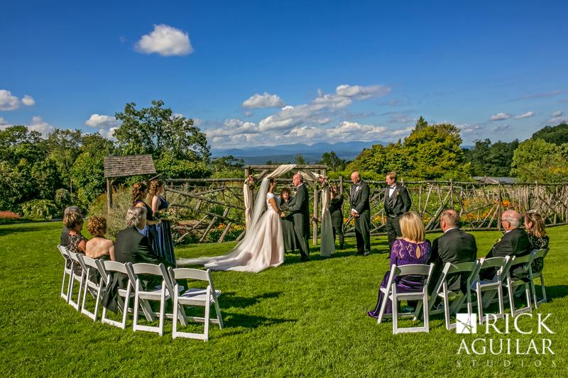 Mohonk Mountain House wedding ceremony