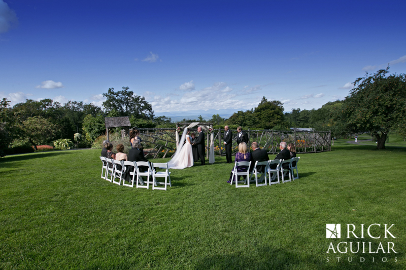 ceremony at Mohonk Mountain House