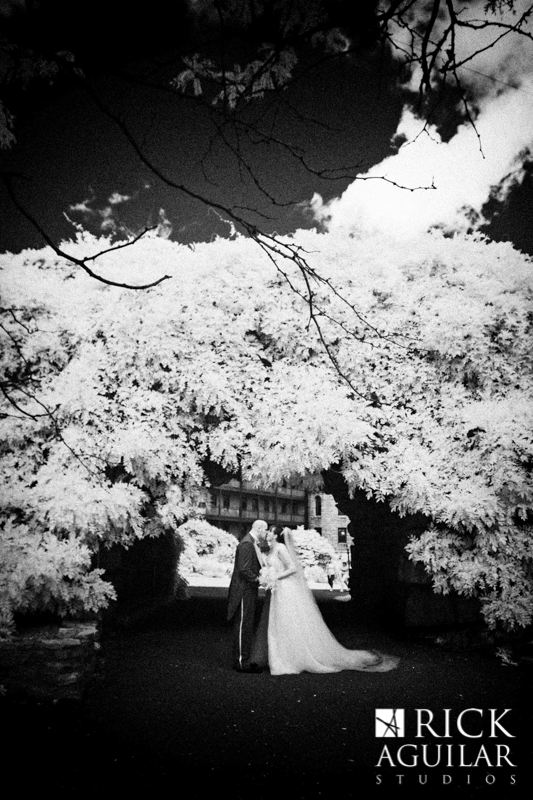 infrared wedding portraits