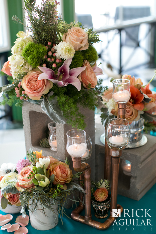 Beautiful floral and decor