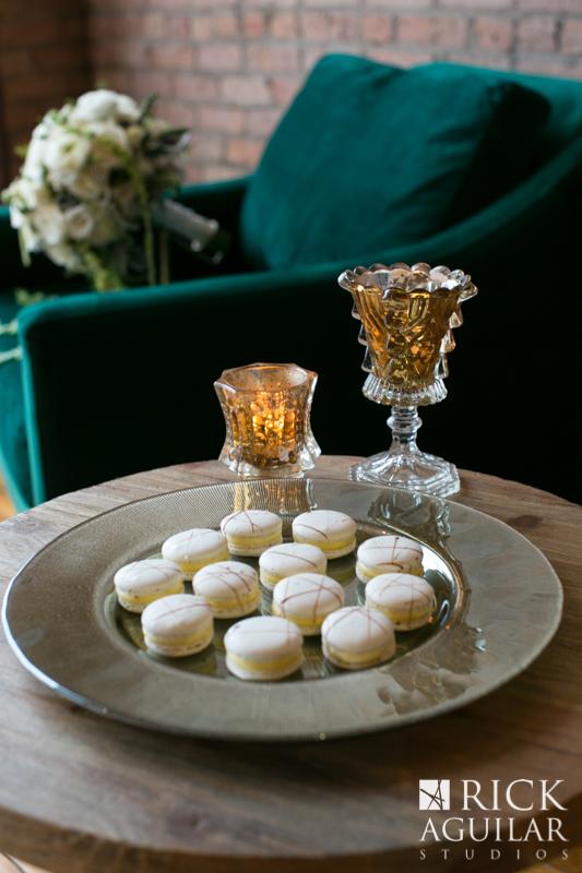 wedding dessert at Bridgeport art center