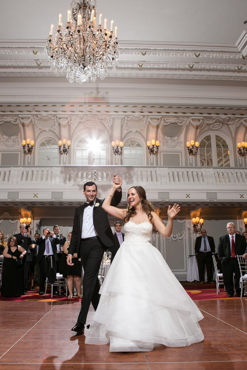 Bride and Groom's first dance at the Drake Hotel