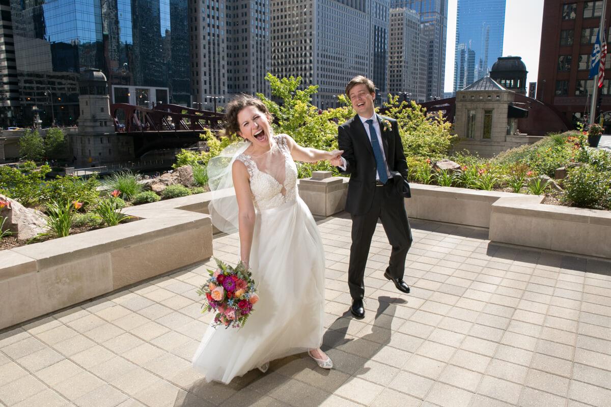 Creative Bride and Groom Candid Portraits