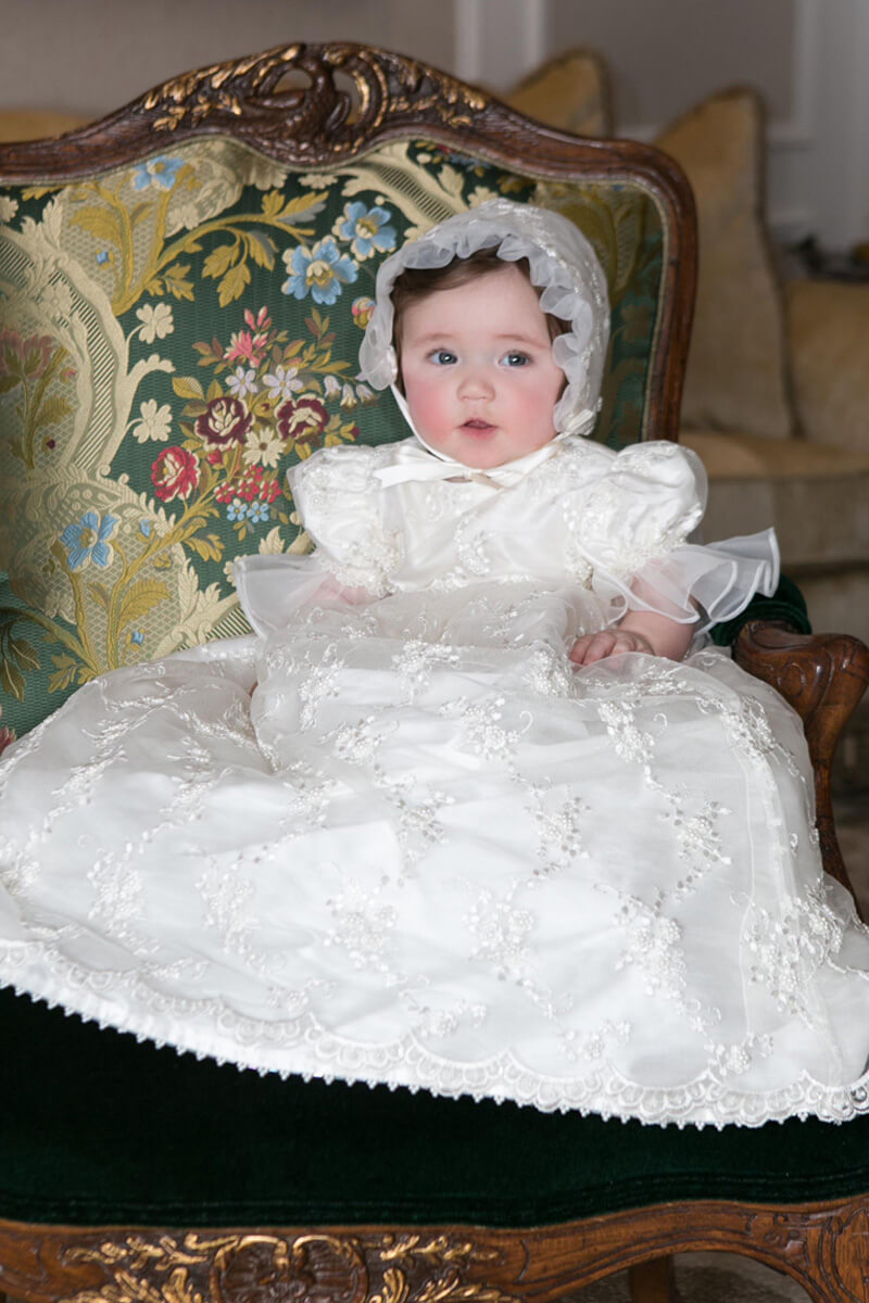 Christening Portrait of baby