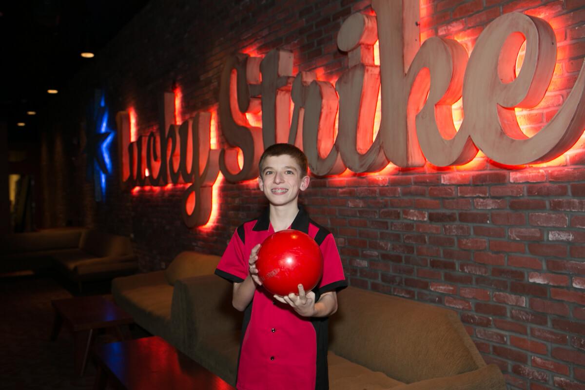 Bar Mitzvah bowling party