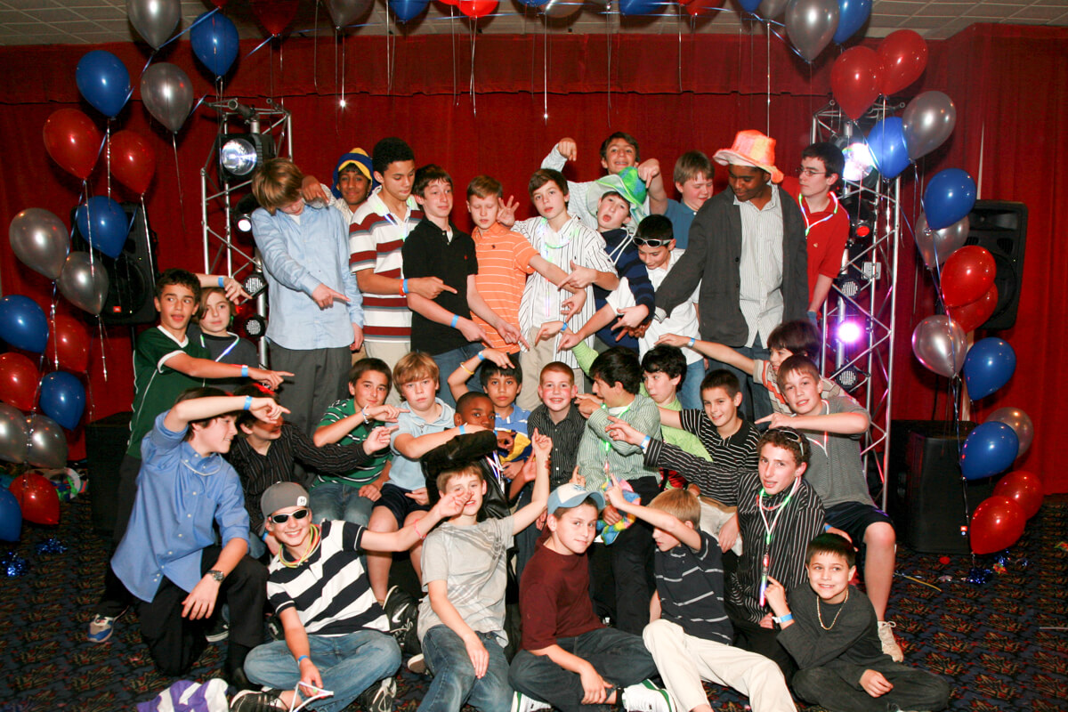Group Photo at Bar Mitzvah
