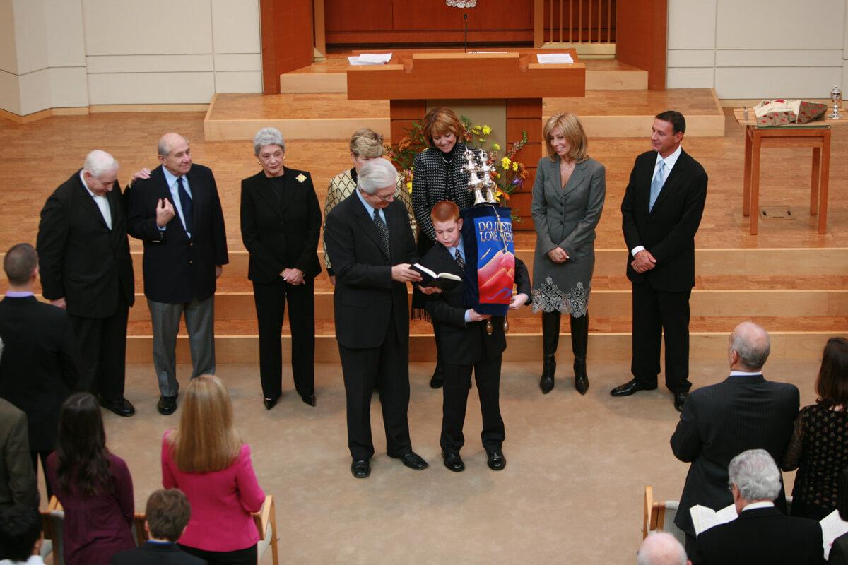 Bar Mitzvah Synagogue Ceremony