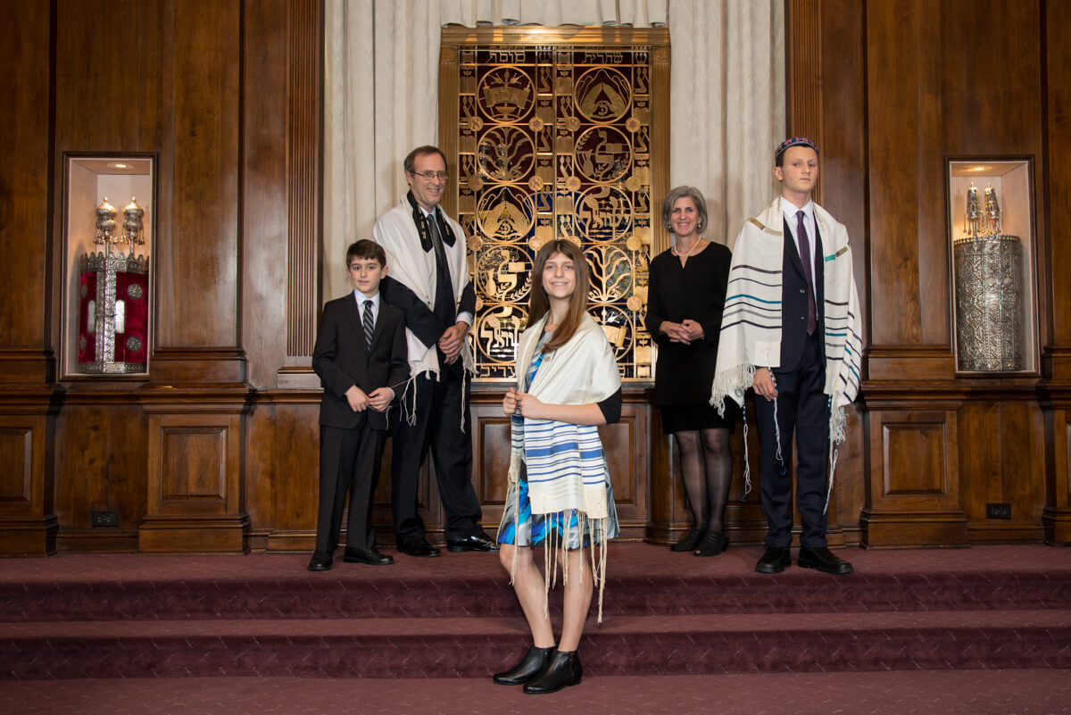 Family Portrait at Synagogue