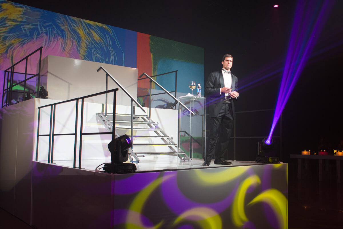BCG CEO at company event