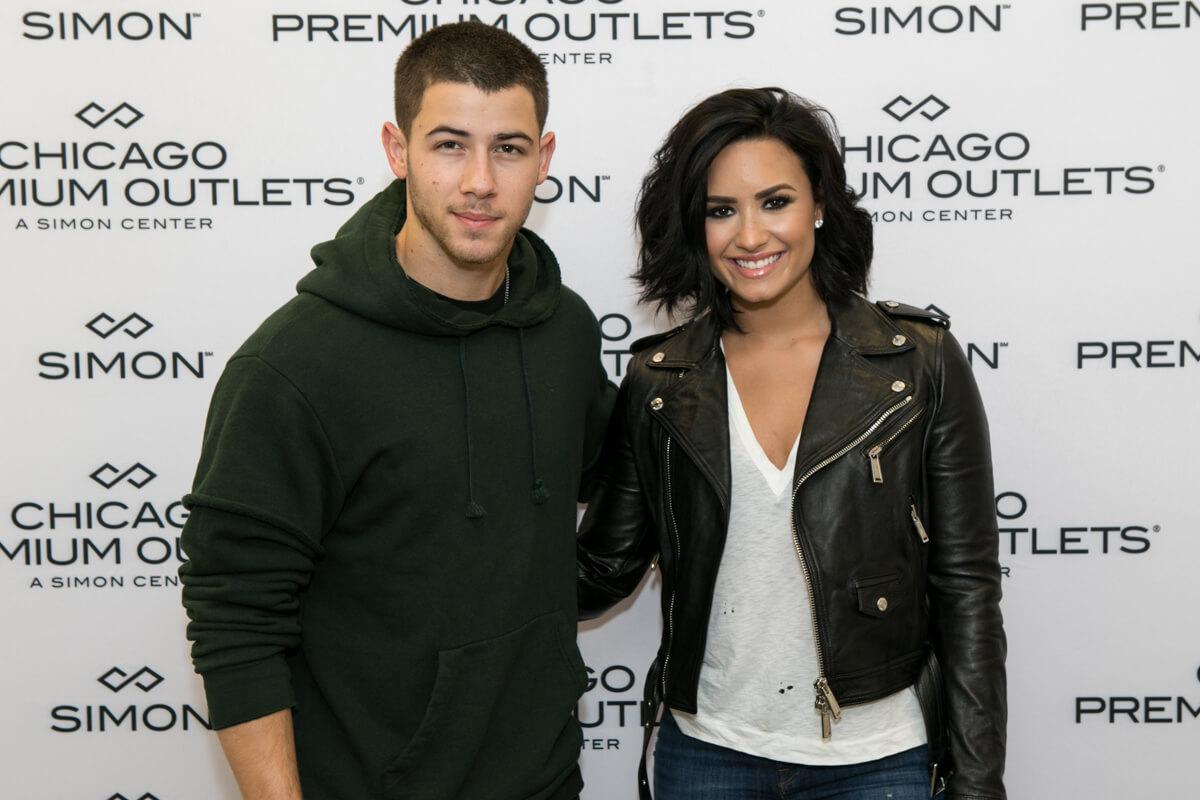 Adam Levine and Demi Lavato