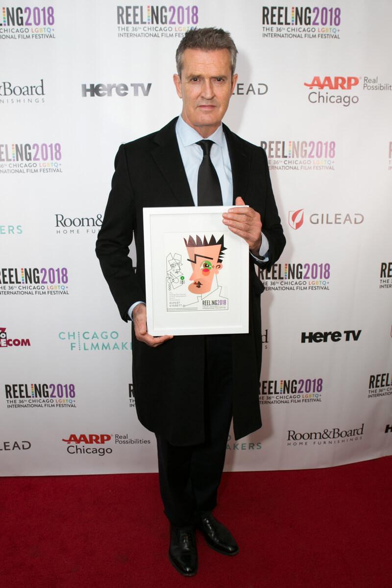 Rupert Holmes at Reeling Film Festival