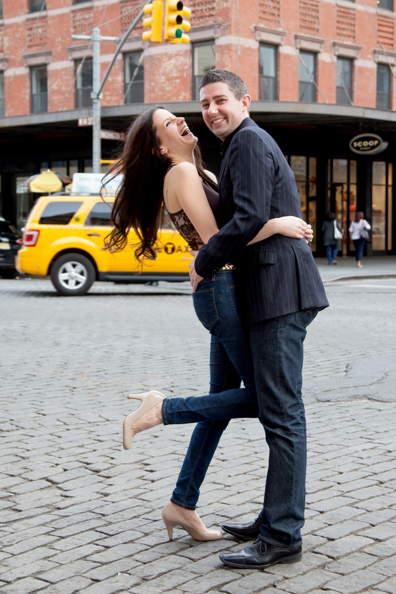 Candid Engagement Session in New York City