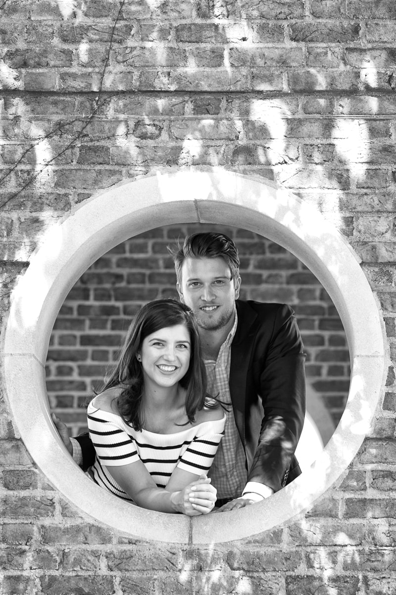 Engagement Session at Chicago Botanic Gardens