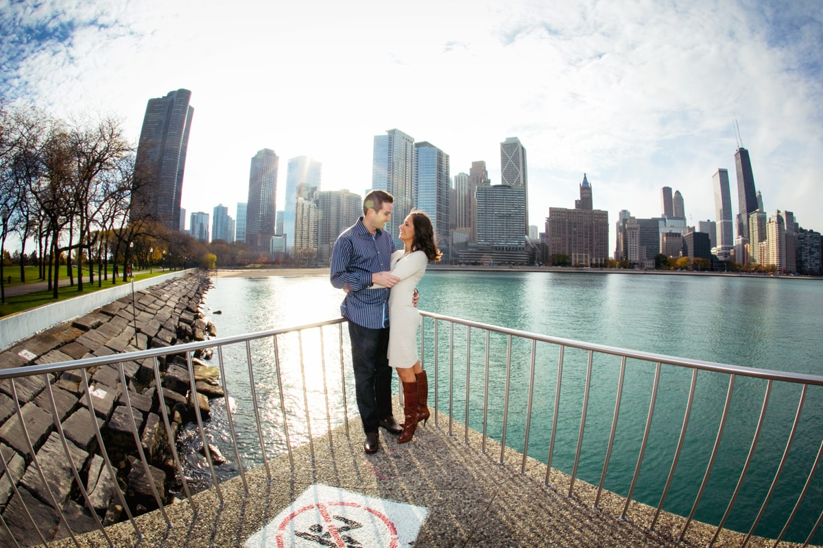Engagement session from Olive Park.