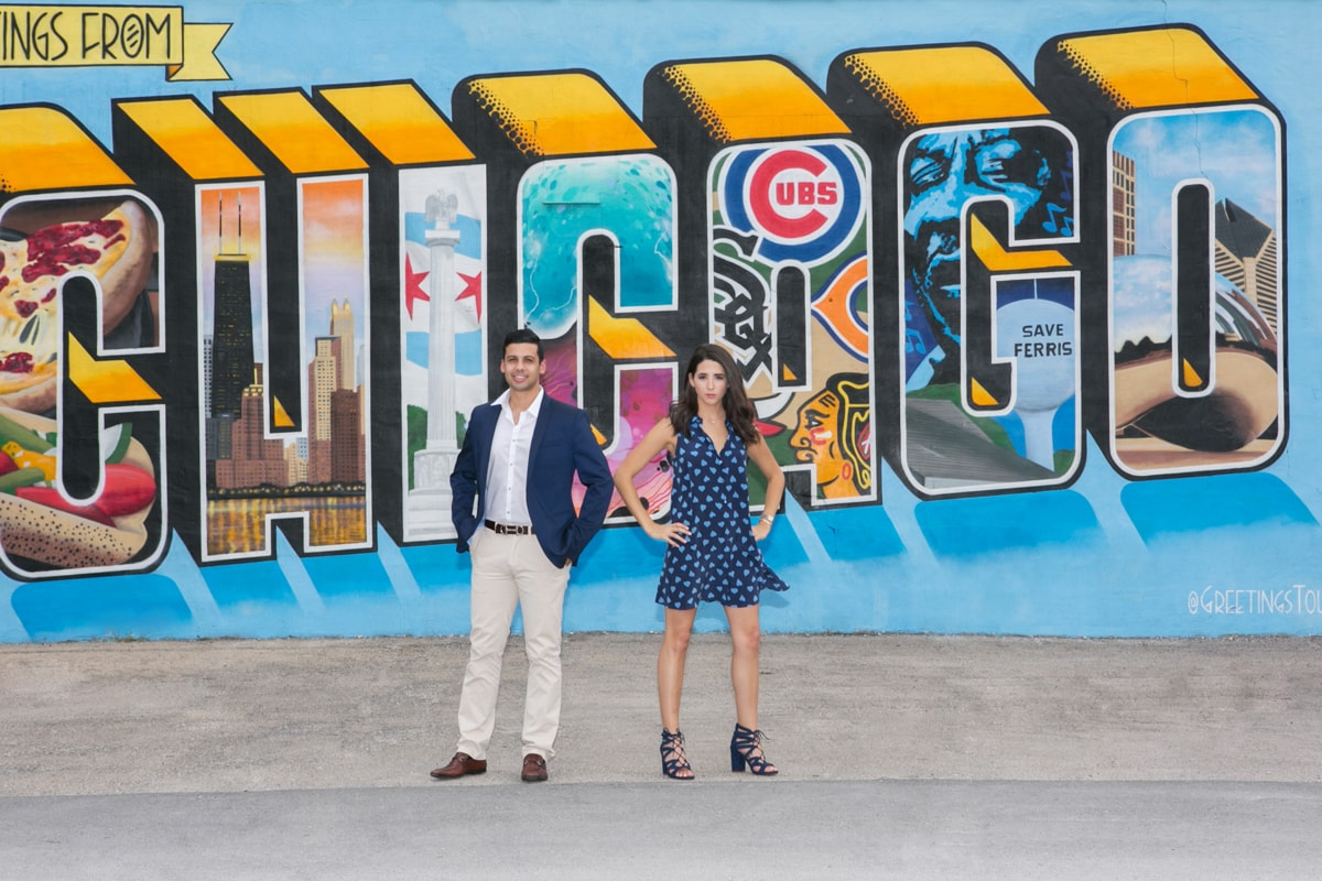 Engagement Session with Chicago Graffiti