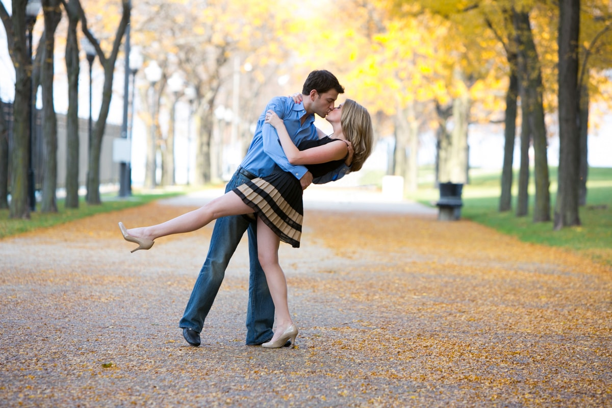 Fall Engagement Session in Chicago