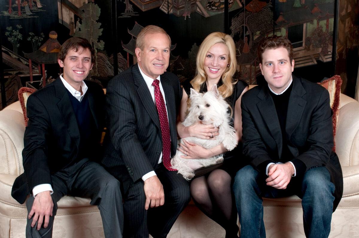 Formal Professional Family Portrait