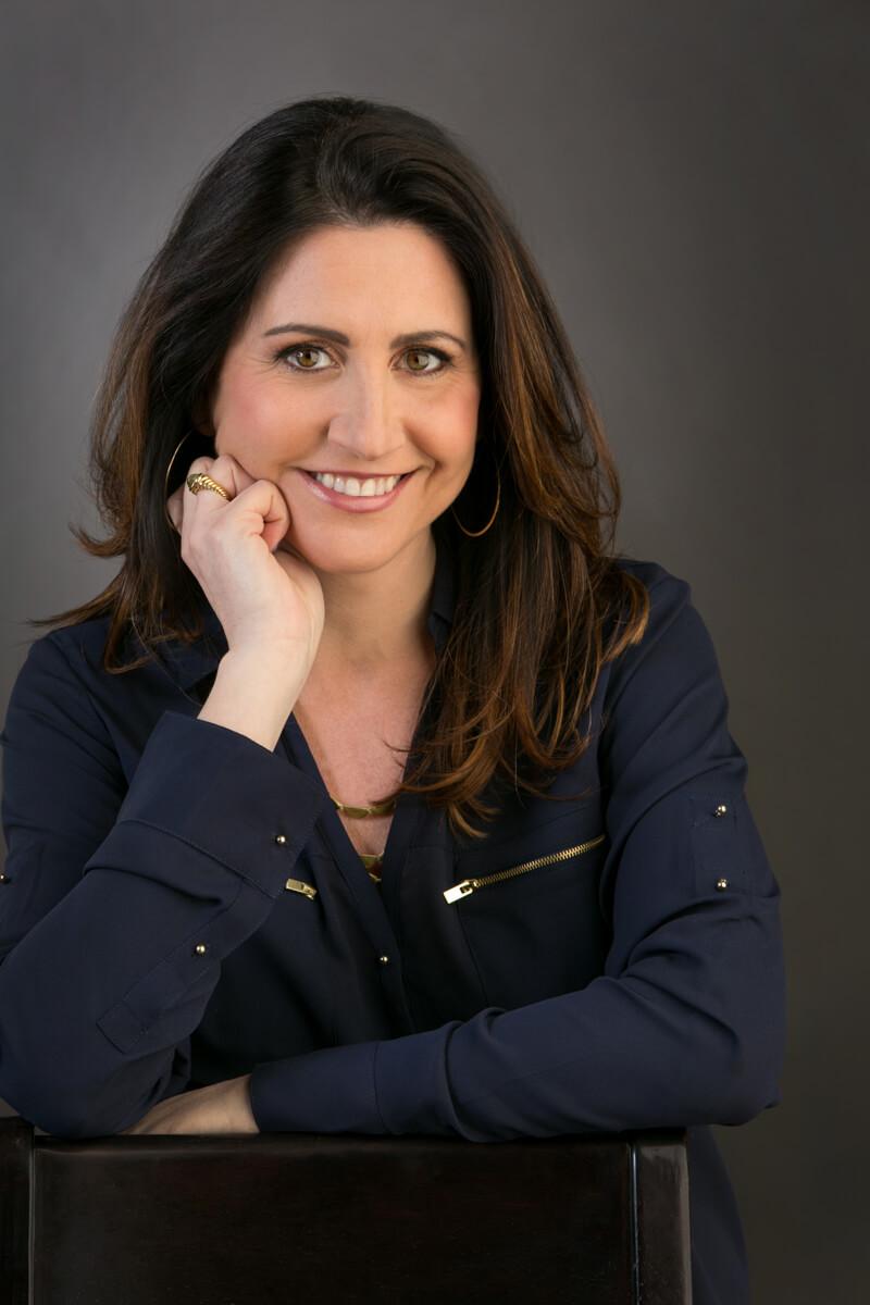 In Studio Portrait for Professional Head Shot