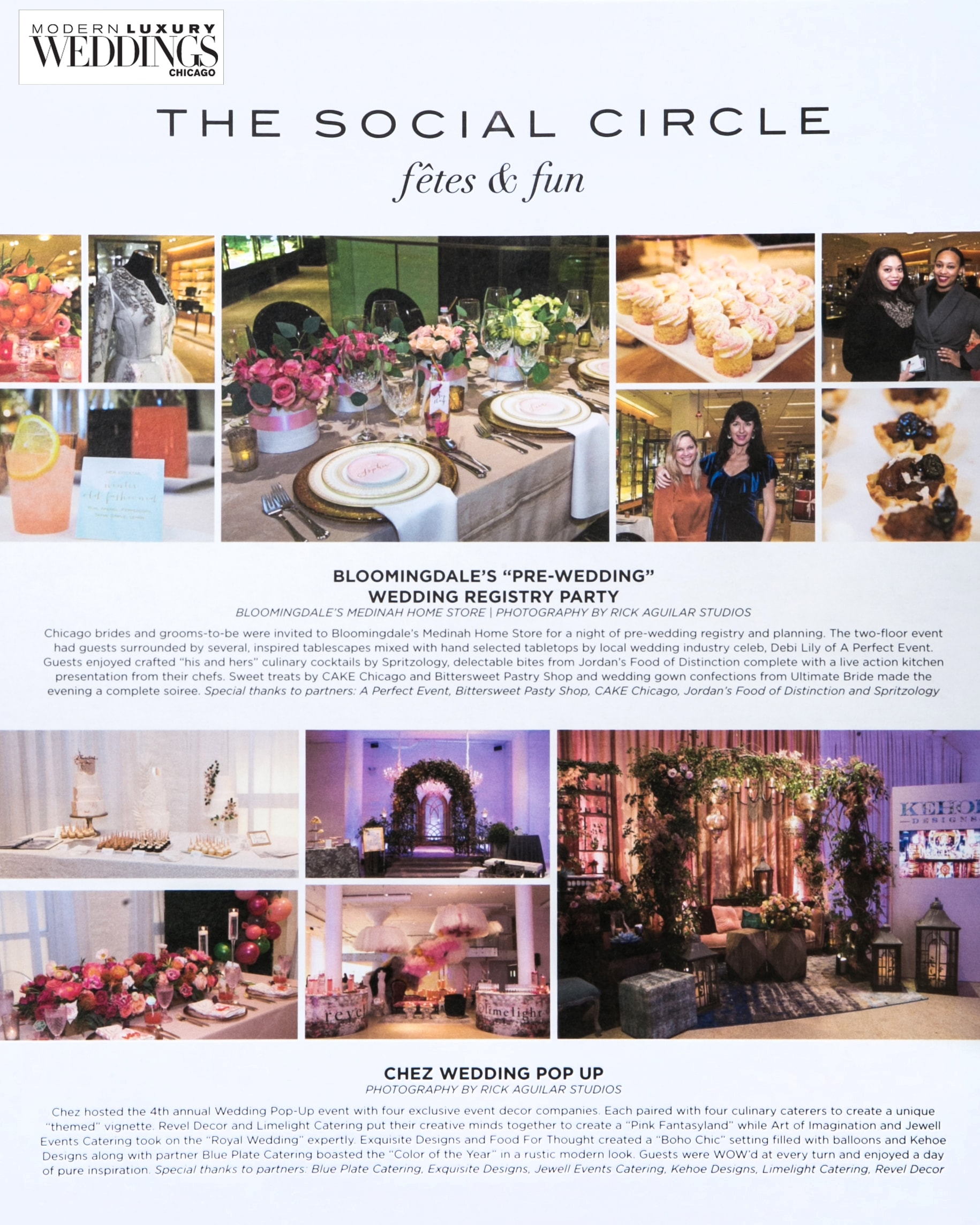 Photography published in Modern Luxury Weddings