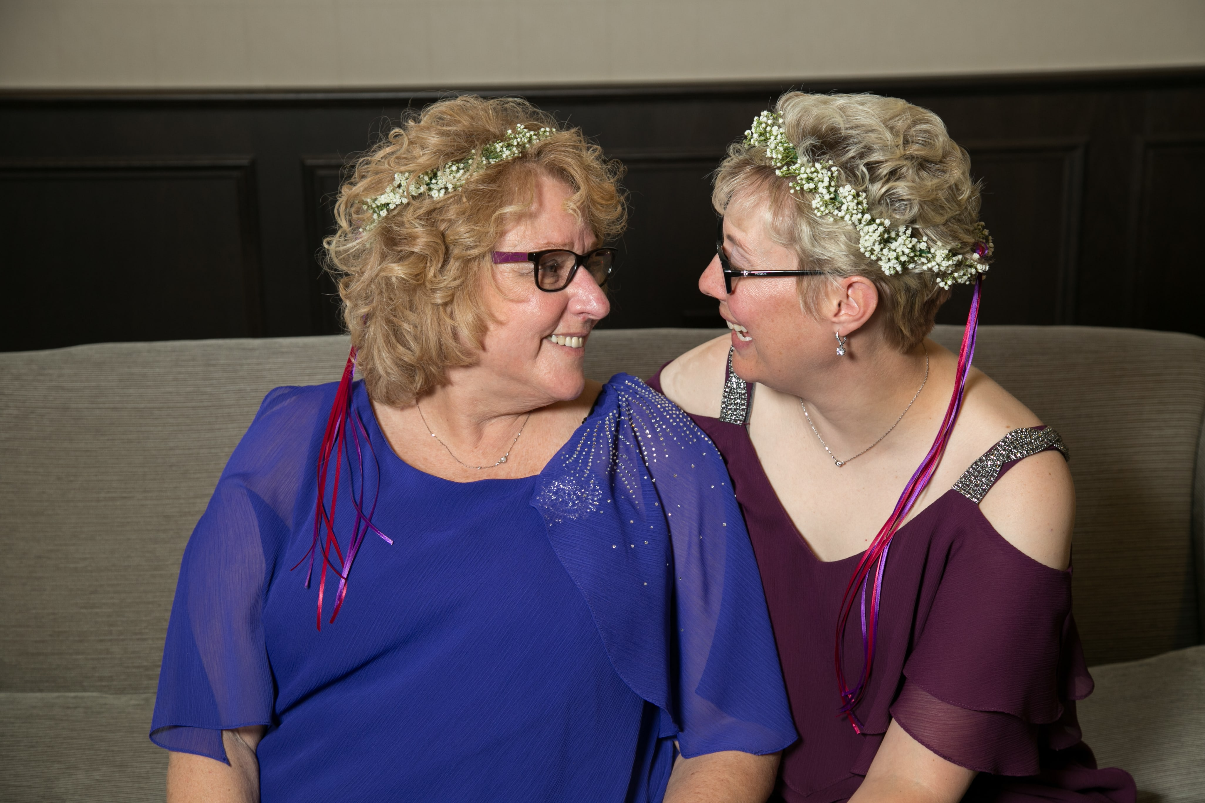 LGBT Couple on Wedding Day