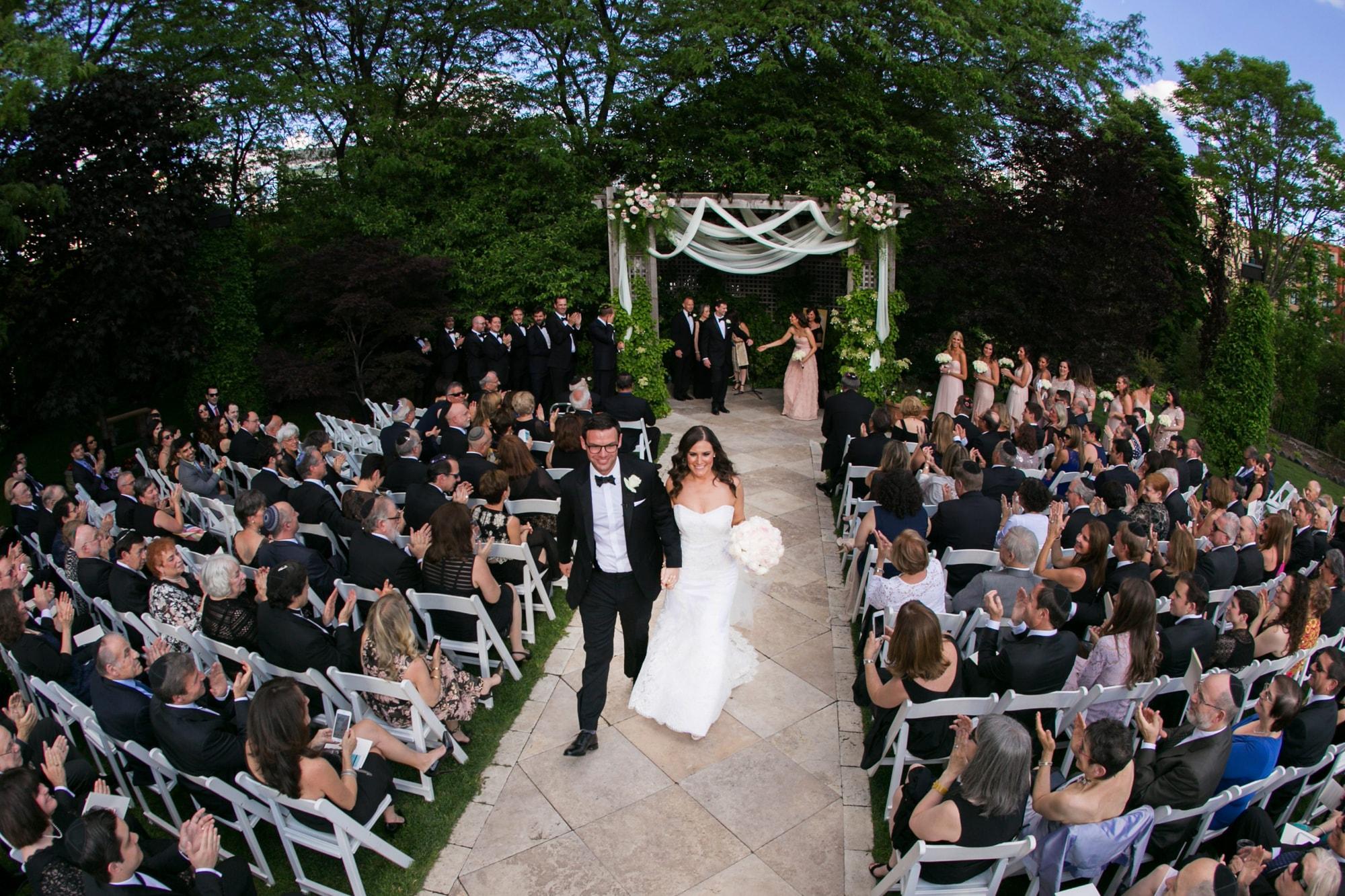 Wedding ceremony at Galleria Marchetti