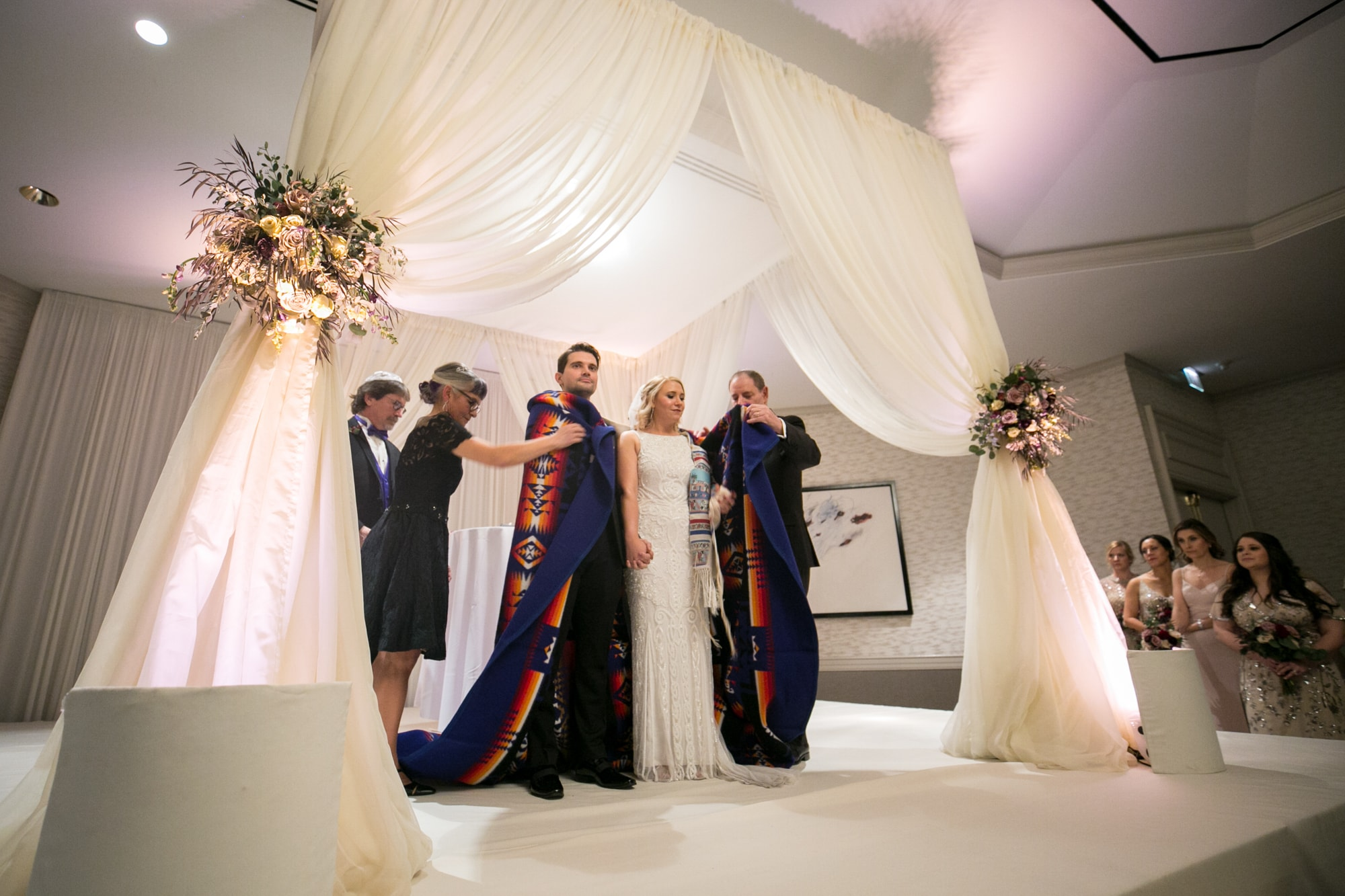 Announcing Bride and Groom at Jewish Wedding Ceremony