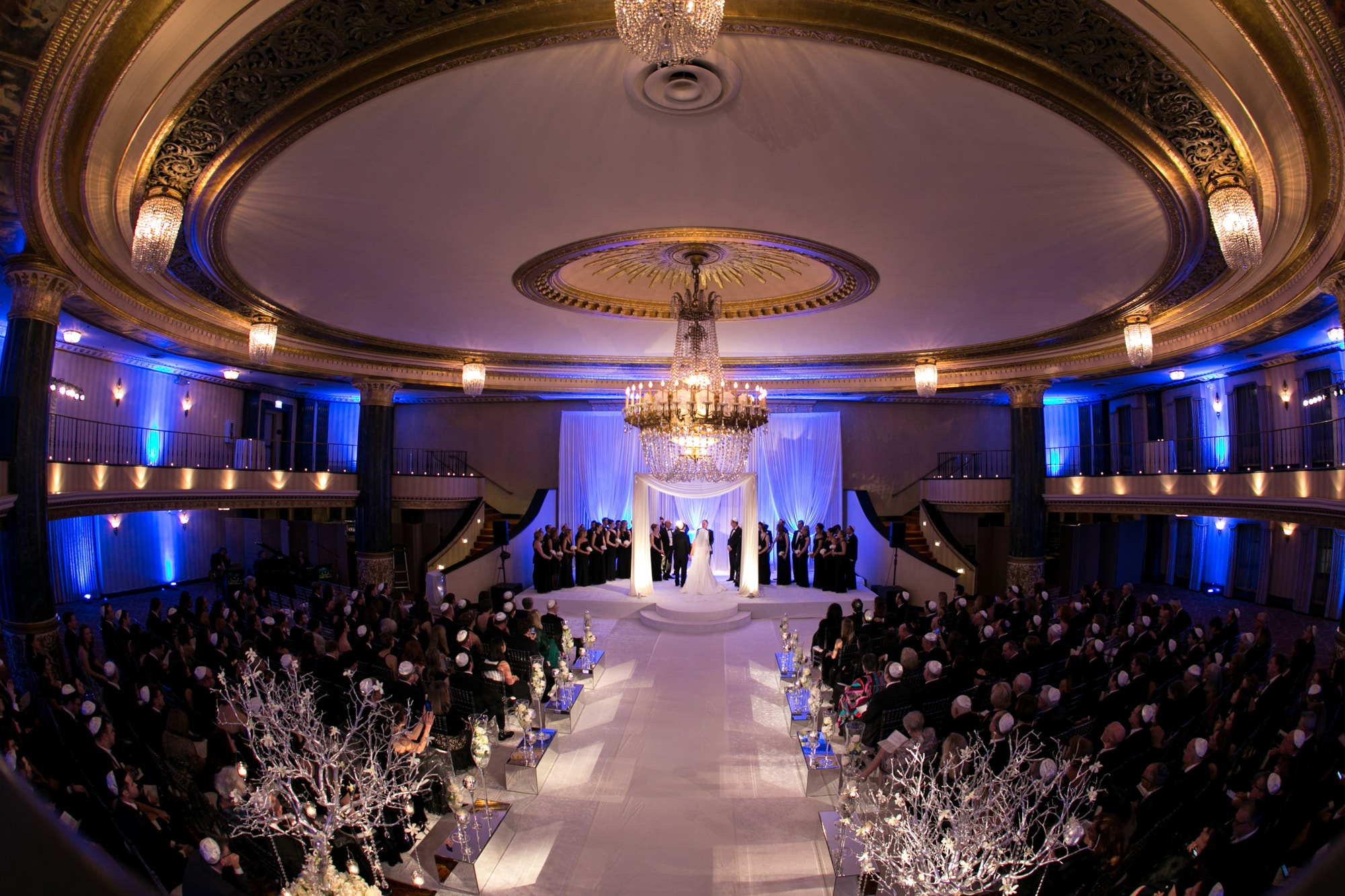 Wedding ceremony at the Intercontinental Chicago