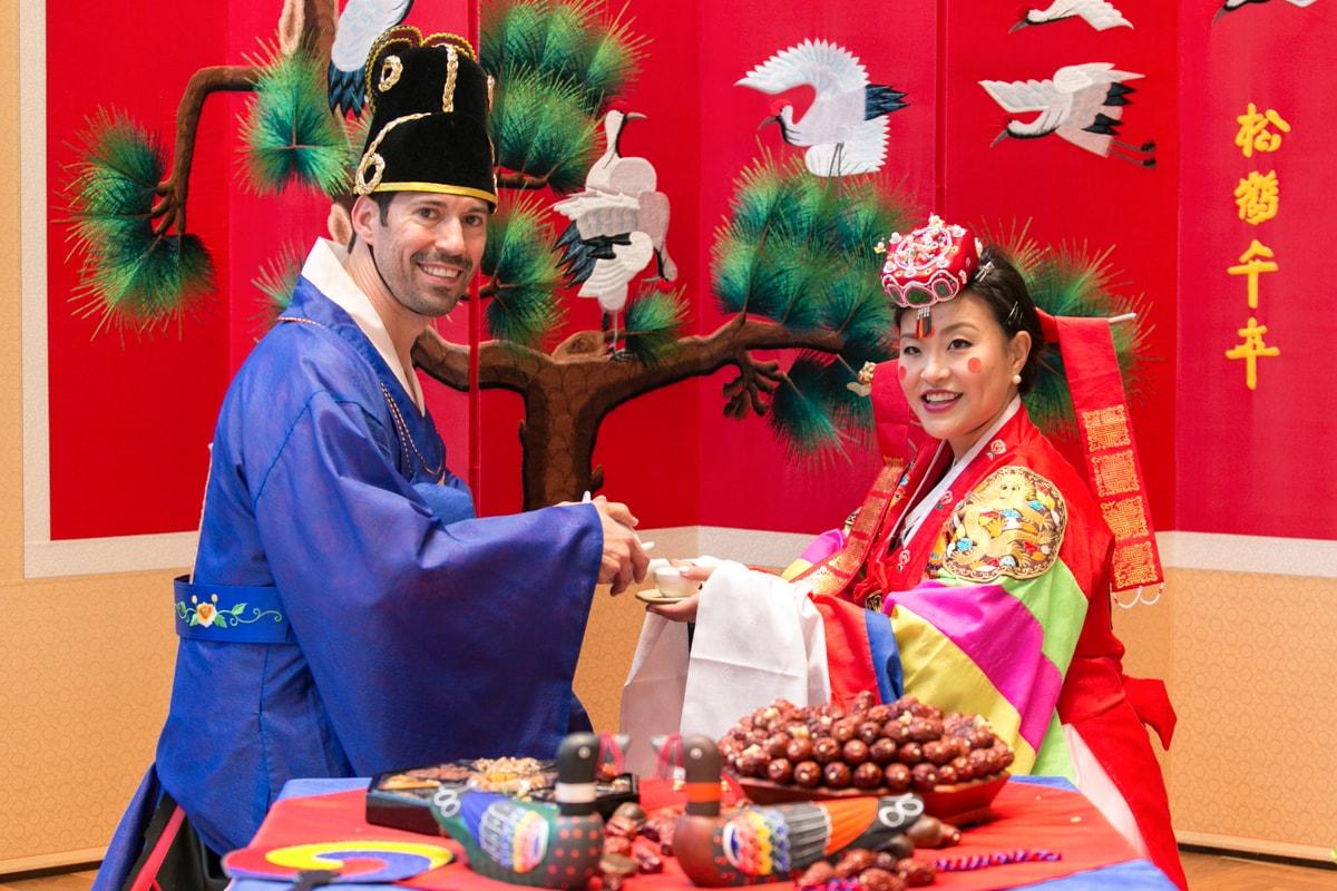 Japanese wedding ceremony at the Langham Chicago
