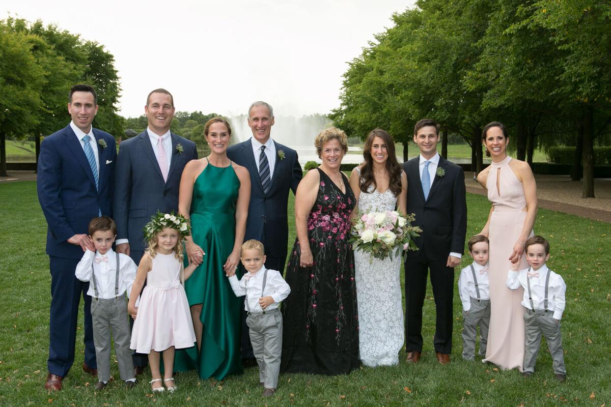 Family Portrait at Chicago's Botanic Gardens
