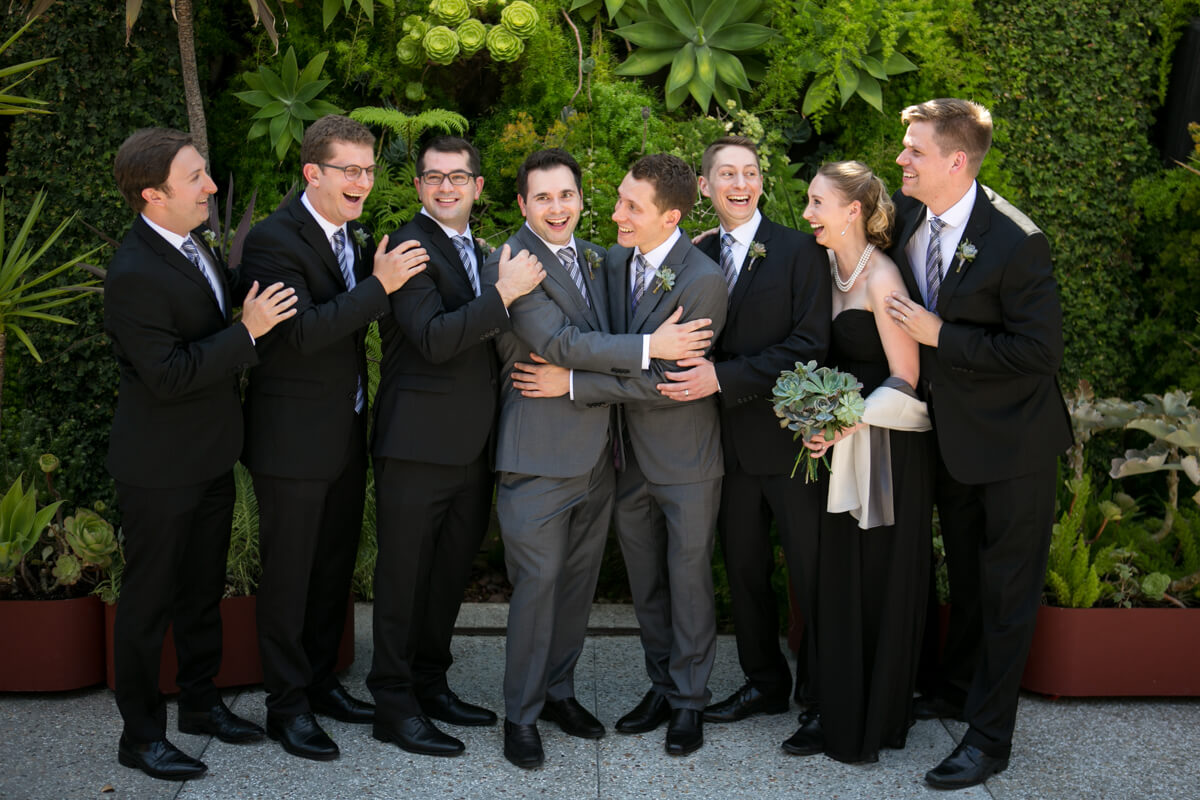 Los Angeles Wedding party Photo